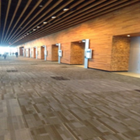 Inside the Vancouver Convention Center 1