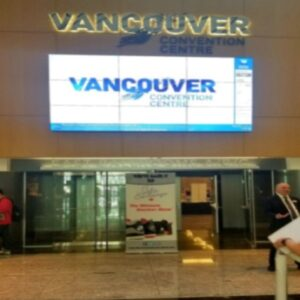 Vancouver Convention Center sign 2