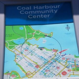 map of Vancouver Convention Center